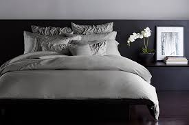 donna karan silk essentials charcoal bedding collection