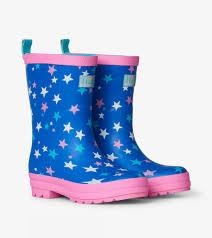 Galactic Stars Matte Rain Boots