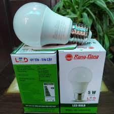 Bóng LED BULB tròn RẠNG ĐÔNG 3W 5W 9W 12W 20W 30W tiết kiệm điện - Bóng đèn  Hãng Rạng Đông