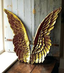 wings wall art gold angel wings wall art think or just how will these be large wings wall art