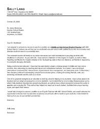 Gallery Of Letter Of Introduction Teacher Job Application