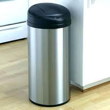 locking kitchen trash can lockable lock s garbage lid outdoor