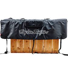 Troy Lee Designs Tailgate Cover Troy Lee Designs Tailgate Cover Signature Black