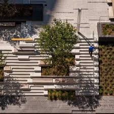 martin design works roemer plaza by klopfer martin design group landscape architecture