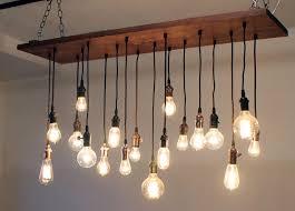 marvelous bare bulb chandelier 3 8 brass bronze adscentury com