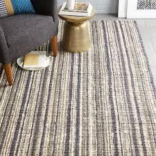 stripe jute boucle rug