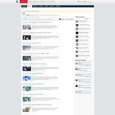 Blog Post List Design Blogs Articles Redesign Grid Vs List Mode Vbulletin
