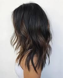Black Hair W Brown Highlights