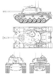 M48 patton blueprint download free blueprint for 3d modeling