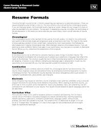 formatting for resume  seangarrette co   formatting a resume best