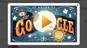 Google erinnert täglich auf seiner Startseite an wichtige Geburtstage oder  Ereignisse mit Grafiken und Animationen. Das sind die sogenannten Google- Doodles. Hinter einigen verbergen sich Minispiele oder kleine Filme, wie  dieses 360-Grad-Video zum