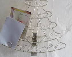 Free Standing Christmas Card Holder Display Vintage Christmas Card Holder Etsy 61