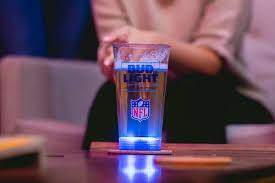 Bud Light Glass Light Up