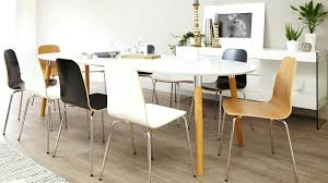 white and brown table extending dining table extendable round dining table long oval shaped of white