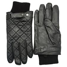 Buy Barbour Lifestyle Mens Black Quilted Leather Gloves at Hurleys & Barbour Lifestyle Mens Black Quilted Leather Gloves ... Adamdwight.com