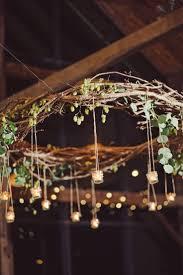 Branch Chandelier 22 Best Grapevine Wreath Chandelier Images On Pinterest