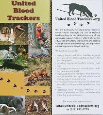 Rack Card United Blood Trackers