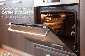 natural oven cleaner