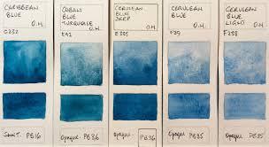 Jane Blundell Artist Old Holland Watercolour Complete Range