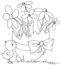 Small Picture Easy easter coloring sheets free printable 38 easter coloring