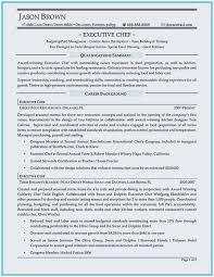 Chef Resume Samples Free Chef Resume Samples Perfect Chef Resume