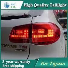 Car Styling Tail Lamp For Vw Tiguan 2009 2013 Tail Lights Led Tail Light Rear Lamp Led Drl Brake Park Signal Stop Lamp Tail Light Lamp Cover Led Tail Lights