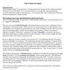 Evaluation Essay Examples How To Write An Evaluation Essay Examples And Format