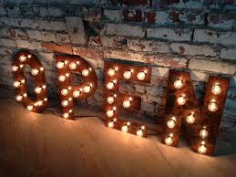 Best of Vintage Marquee Letters 5