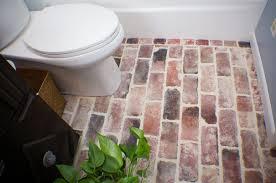 brick veneer flooring timber