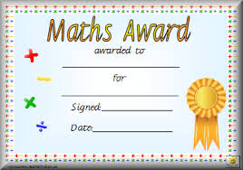 Math Certificate Template Good Award Certificate Template Primary ...