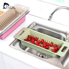 kitchen sink rack kitchen sink drain rack plastic dish cutlery drainer drying holder fruits cup dish kitchen sink rack