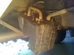 p0455 p0442 evap evaporative emissions leak fix dodgeforum com canister bracket tilted down in the front