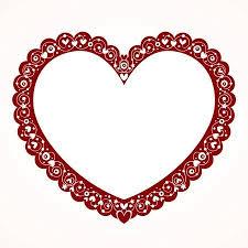 valentine heart frame.  Heart Valentine Heart Frame Stock Vector  26367599 Intended Heart Frame L