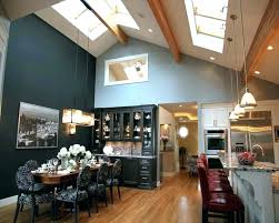 track lighting for sloped ceiling. Vaulted Ceiling Recessed Lighting Track Sloped Kitchen Flexible Options For A