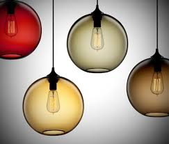 solitaire modern pendant light by niche