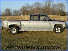1985 85 Chevrolet Chevy K30 1 one ton 4x4 Four Wheel Drive crew ...