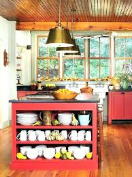 antique red kitchen cabinets idea kitchen cabinets colors images