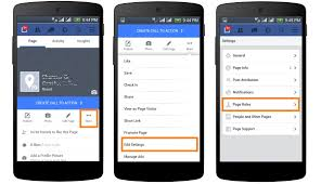 add an admin to facebook page on mobile