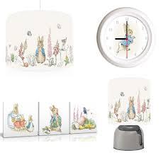 peter rabbit beatrix potter bundle light shade lamp