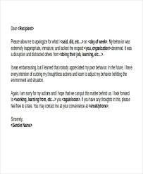 Letter Of Personal Apology Unique 44 Apology Letter Examples PDF Word Pages Sample Templates