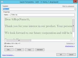 Template Email Outlook Creation Of Reply Templates From Emails In Outlook Mapilab