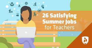 26 Satisfying Summer Jobs For Teachers Rasmussen College