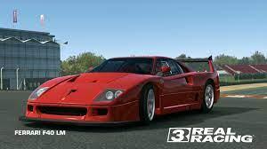 Classic and motorsport by rob powell. Ferrari F40 Lm Real Racing 3 Wiki Fandom