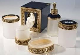 black and white bathroom accessories.  Black Interior Decor Black Gold White Bathroom Accessories For Black And White Bathroom Accessories I
