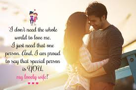 Wife Love Quotes Impressive 48 Romantic Love Messages For Wife