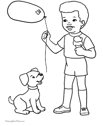 Small Picture Free printable coloring pages Cute Dog