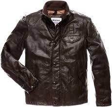 blauer usa dakota leather jacket men jackets fashion brown blauer usa official website newest