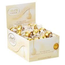 Lindt LINDOR White Chocolate Truffles ...