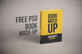 free realistic book cover mockup