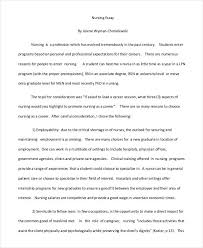 essay writing samples nursing essay writing example